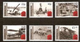 Gibraltar  2015 Micheln° 1669-1674 *** MNH  Centenary World War I - Gibraltar