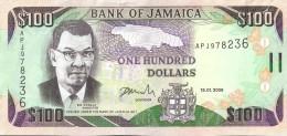 JAMAIQUE - 100 Dollars 2009 - UNC - Jamaique