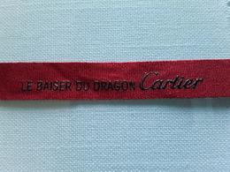 "Ruban CARTIER   "" Le  Baiser Du Dragon  + 28 Cm   !! - Modern (from 1961)"