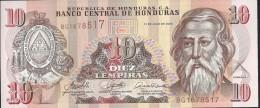 HONDURAS - 10 Lempira 2006 - UNC - Honduras