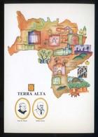 *Terra Alta* Congrès Cultura Catalana 1977. Campanya Identificació Del Territori. Nueva. - Mapas