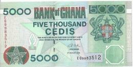 GHANA - 5000 Cedis 2006 UNC - Ghana