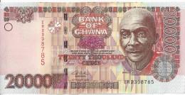 GHANA - 20000 Cedis 2003 UNC - Ghana