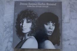 DONNA SUMMER /BARBRA STREISAND NO MORE TEARS MAXI 45T AMERICAIN 1979 SOUL DISCO - 45 Rpm - Maxi-Single