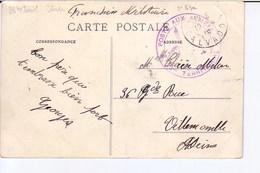 Caen, La Caserne Amelin Avec Cachet 23 Territorial, Poste Aux Armées 1915 - Marcophilie (Lettres)