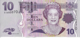 ILE FIDJI - 10 Dollars 2012 - UNC - Pick 111b - Fidji