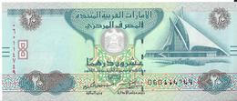 ÉMIRATS ARABES UNIS - 20 Dirhams 2015 UNC - Pick 28c - Emirats Arabes Unis
