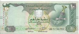 ÉMIRATS ARABES UNIS - 10 Dirhams 2015 UNC - Pick 27e - Emirats Arabes Unis