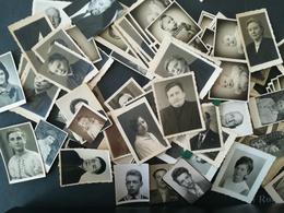 MÉLI -  MÉLO DE 100 PHOTO - PASSEPORTS  PHOTOS D'IDENTITÉ  PASSPORT ID. OU PETITS PORTRAITS PHOTOGRAPHIE - Album & Collezioni