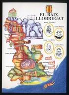 *El Baix Llobregat* Congrès Cultura Catalana 1977. Campanya Identificació Del Territori. Nueva. - Mapas