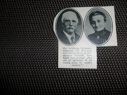 """Origineel Knipsel ( 1851 ) Uit Tijdschrift """" De Stad """" :  Meenen  Menin  Menen  1932 - Vieux Papiers"""