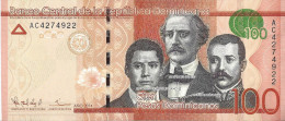 REPUBLIQUE DOMINICAINE - 100 Pesos 2014 - UNC - Dominicaine