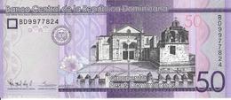 REPUBLIQUE DOMINICAINE - 50 Pesos 2015 - UNC - Dominicaine