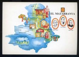 *El Matarranya* Congrès Cultura Catalana 1977. Campanya Identificació Del Territori. Nueva. - Mapas