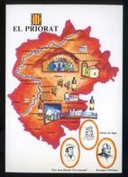*El Priorat* Congrès Cultura Catalana 1977. Campanya Identificació Del Territori. Nueva. - Mapas