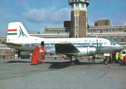AIRPLANE AEROPLANE AIRCRAFT ILYUSHIN IL-14 HUNGARIAN AIRLINES MALEV LIVERPOOL ENGLAND ENGLISH * Reg Volt 0039 * Hungary - 1946-....: Ere Moderne