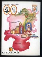 *El Solsonès* Congrès Cultura Catalana 1977. Campanya Identificació Del Territori. Nueva. - Mapas