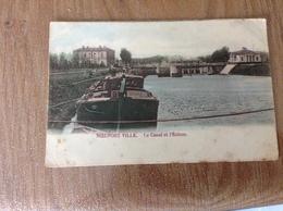 Nieuport écluse Et Canal - Postkaarten
