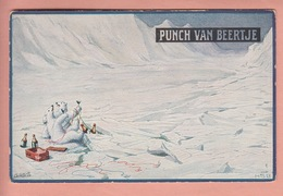 OLD POSTCARD - ADVERTISING - PUBLICITAIRE -   PUNCH - LIQUER - BEAR 'NORTH POLE' - ED. TUCK SERIES ' IN GRONLAND ' - Advertising