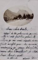 H197 - 38 - GRENOBLE - Isère - Carte Photo - Le Saint-Eynard Et Pont Sur L'Isère - Grenoble
