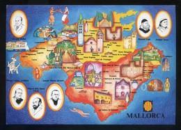 *Mallorca* Congrès Cultura Catalana 1977. Campanya Identificació Del Territori. Nueva. - Mapas