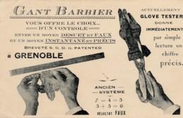 H198 - 38 - GRENOBLE - Isère - Gant Barbier - Appareil Glove Tester - Grenoble