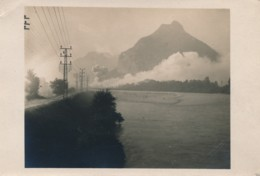 H198 - 38 - GRENOBLE - Isère - Incendie Du Polygone - Carte Photo - Grenoble