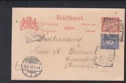 Ned. Indie Briefkaart 1903 Makassar - Niederländisch-Indien
