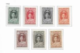 1923 MNH Nederlands Indië, Jubileum Postfris - Niederländisch-Indien
