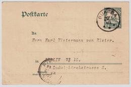 DOA , 1909, Bukoba Nach Berlin, Transit-Stp.  , # A1357 - Kolonie: Duits Oost-Afrika