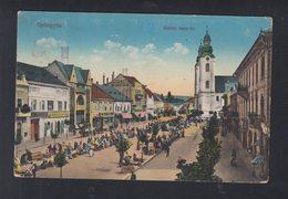 Hungary PPC Gyöngyös Hanisz Imre-ter 1917 - Hungary
