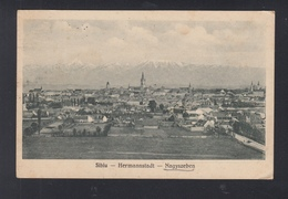 Romania PPC Sibiu Hermannstadt 1932 - Roemenië