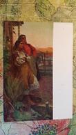 "MOLDOVA IN ART. ""THE EVENING"" By Kacharov-   OLD Postcard 1958 - Moldova"