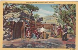 Navajo Indian Families & Hogans , 30-40s - Native Americans