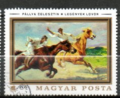 HONGRIE  Tableaux De C Pallya 1979 N°2668 - Hungary