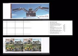 MOTORBIKES ALLAND 2018 Mi 0956-59 Motorbikes Booklet  Front Back & Inside............................................221 - Aland