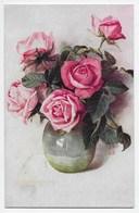 Flowers In A Vase - Tuck Oilette 9981 - Flowers