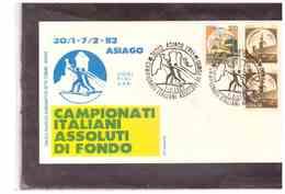 TEM664 -        CAMPIONATI ITALIANI ASSOLUTI DI FONDO   /   ASIAGO 7.2.1982 - Ski
