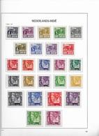 1934 MH Nederlands Indië No Watermark - Netherlands Indies