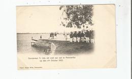 GOUVERNEUR C LELY ZET VOET AAN WAN TE PARAMARIBO OP DEN 4 En OCTOBER 1902 - Surinam