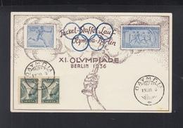 Olympics 1936 PC Olympia Cancel - Greece