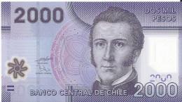 CHILI - 2000 Pesos 2009 Polymer UNC - Chili