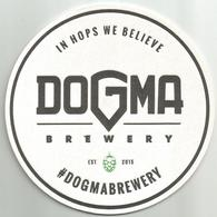 DOGMA BEER Coaster From Serbia Microbrewery - Beer Mats