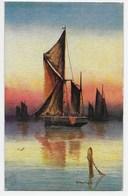 R. Montague - Sea And Sky - Oilfacsim Finish - Tuck Oilette 9890 - Other Illustrators