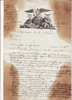 Document Sept Brumaire Se L' An 6 Departement De La Nièvre Liberté Fraternité Egalité Ou La Mort  2 Scans - Manuscripts