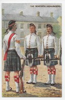 Harry Payne - The Seaforth Highlanders  - Tuck Oilette 9885 - Other Illustrators