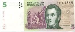 ARGENTINE - 5 PESOS UNC - Argentine