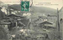 30 LE GRAND COMBE - EMBARQUEMENT DU CHARBON - La Grand-Combe