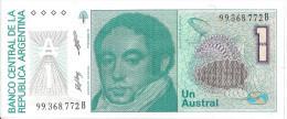 ARGENTINE - 1 Austral UNC - Argentine