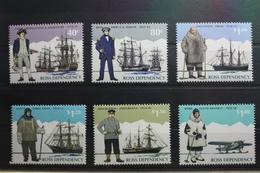 Neuseeland Ross-Gebiet 32-37 ** Postfrisch Schiffe #SK684 - Unclassified